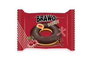 Brawo donut Вишня 50 г