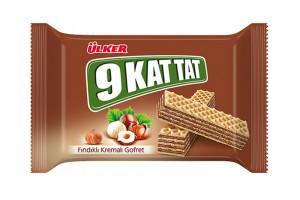 Ulker 9 Kat Tat Вафли с шоколадно-ореховым вкусом 39 г