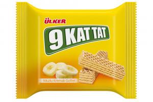 Ulker 9 Kat Tat Вафли з банановым вкусом 39 г