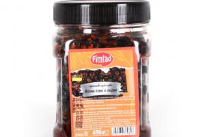 Fimtad Маслины черные вяленые со специями 450 г
