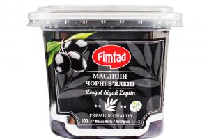 FIMTAD Маслины чёрные вяленые S 400 г